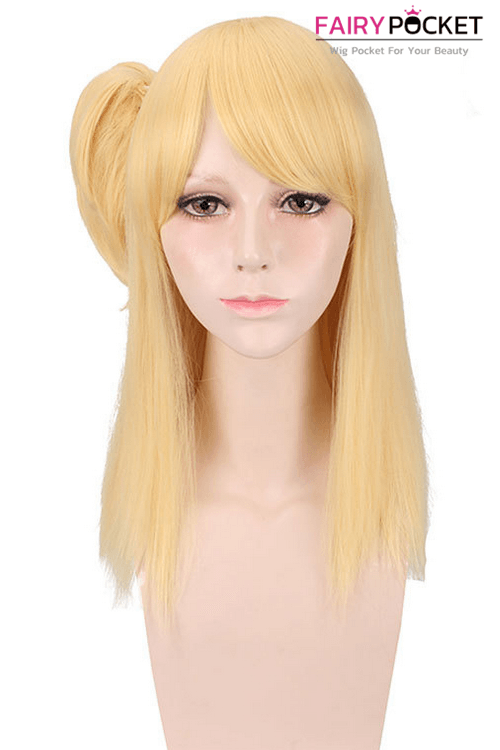 Fairy Tail Lucy Heartfilia Anime Cosplay Wig