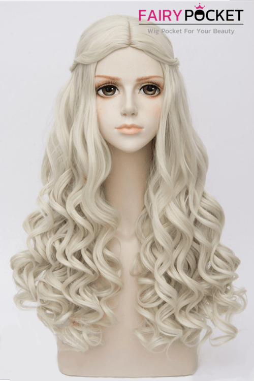 Alice in Wonderland the White Queen  Anime Cosplay Wig