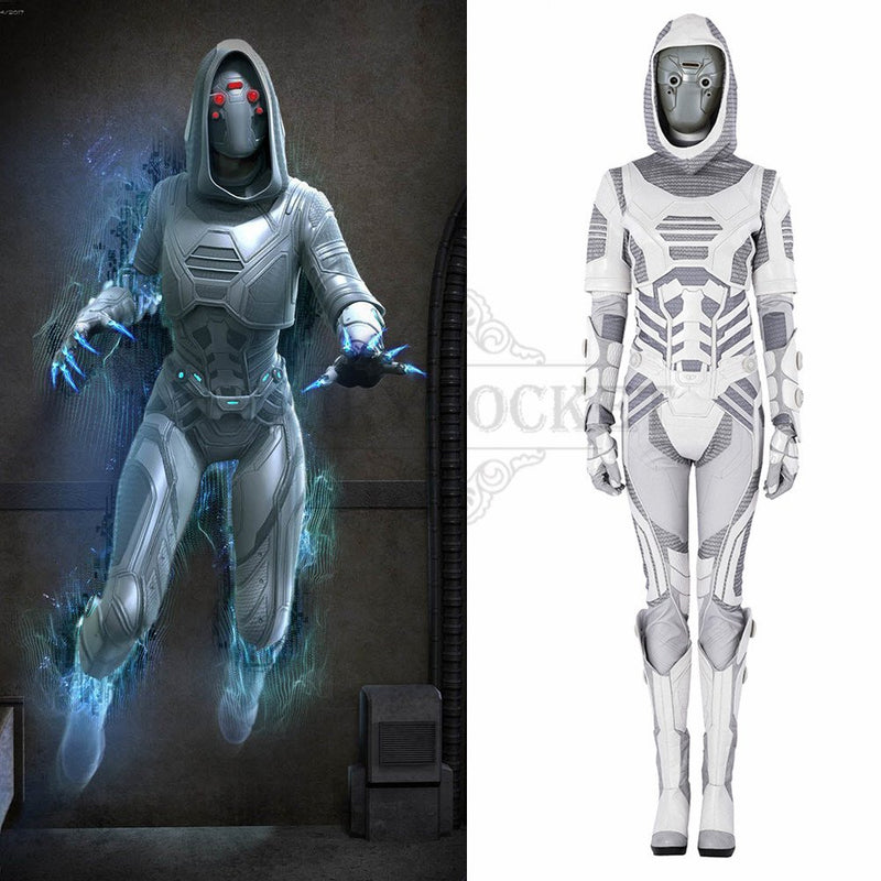 Ant-Man and the Wasp Ghost Cosplay Costume