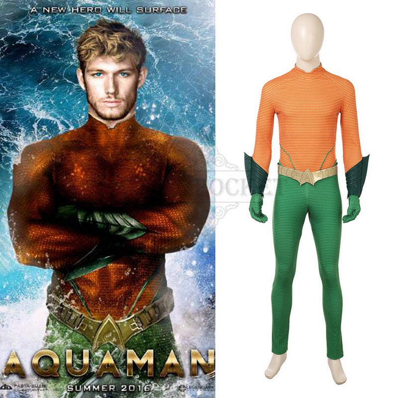 Aquaman 2 Arthur Curry Cosplay Costume