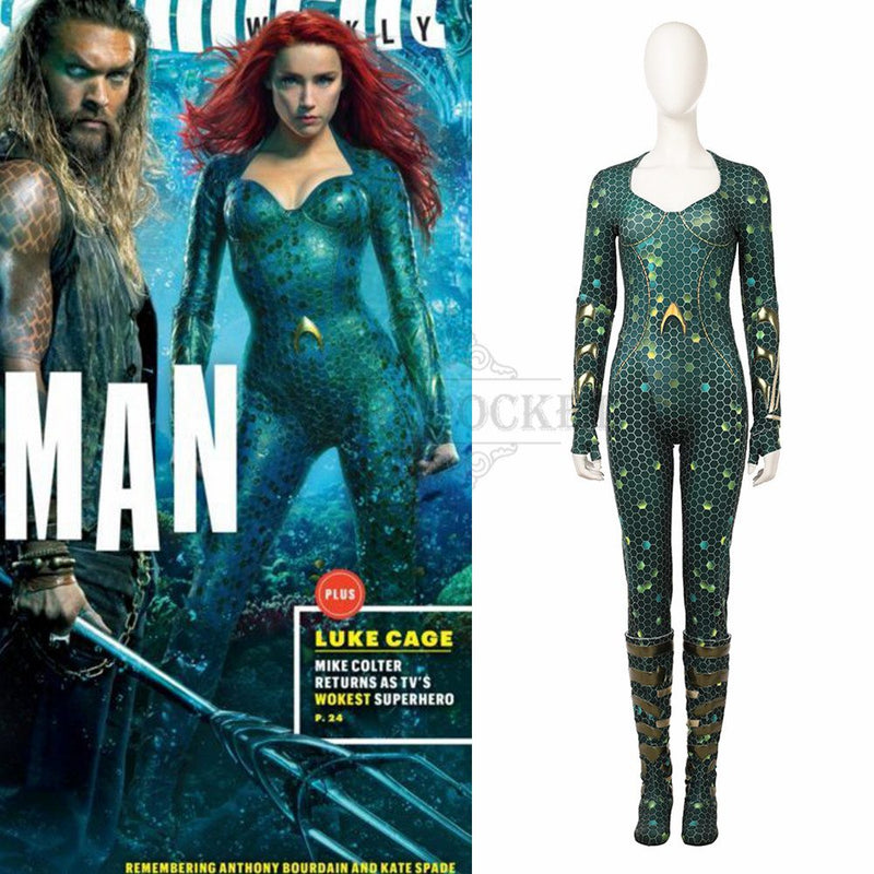 Aquaman 2 Mera Cosplay Costume