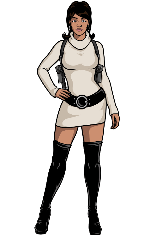 Lana from archer costume