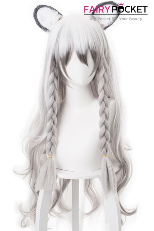 Arknights Pramanix Cosplay Wig (Include Ears)