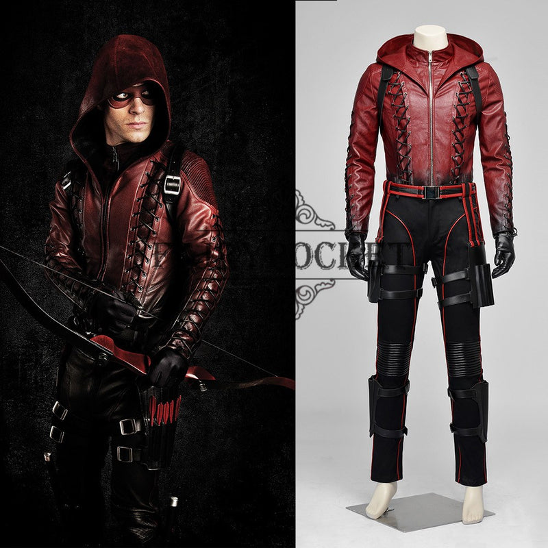 Arrow Red Arrow Cosplay Costume