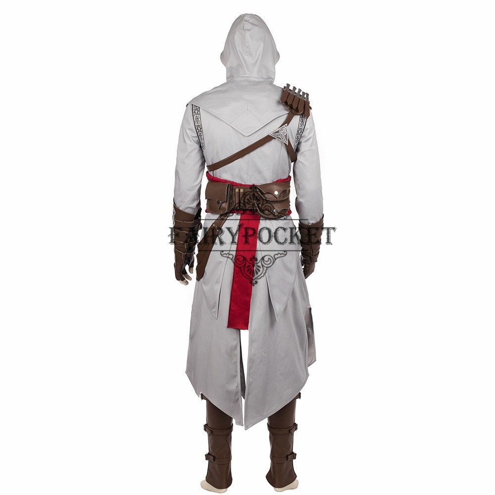 Assassin S Creed Altair Ibn La Ahad Cosplay Costume Fairypocket Wigs