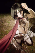 Attack on Titan Mikasa Ackerman Anime Cosplay Wig