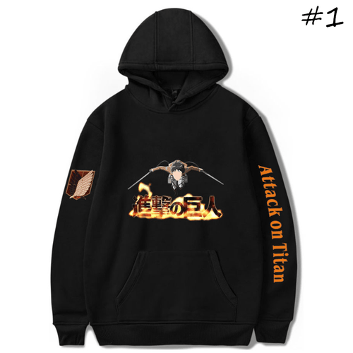 Attack on Titan Anime Hoodie - B