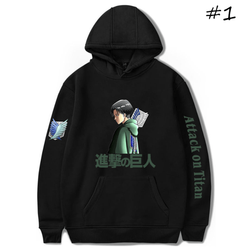 Attack on Titan Anime Hoodie - C