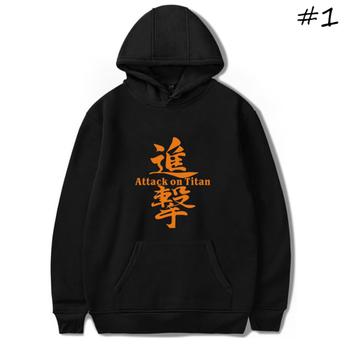 Attack on Titan Anime Hoodie - D