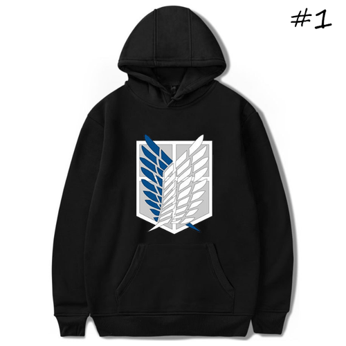 Attack on Titan Anime Hoodie - E