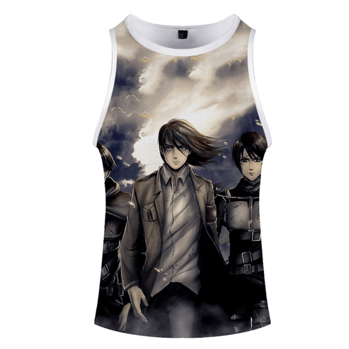 Attack on Titan Anime Tank Top - G