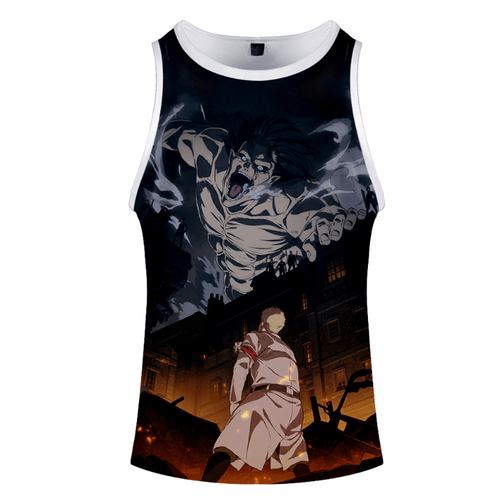 Attack on Titan Anime Tank Top - J