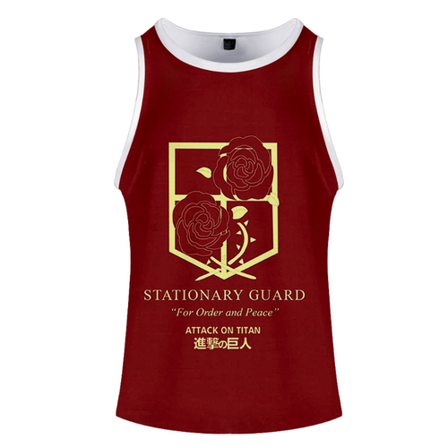 Attack on Titan Anime Tank Top - M