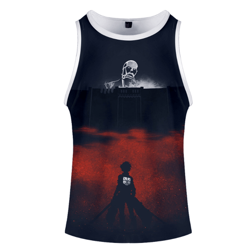 Attack on Titan Anime Tank Top - Q