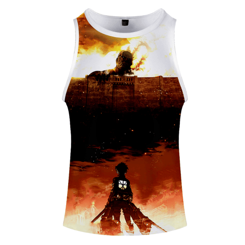 Attack on Titan Anime Tank Top - R