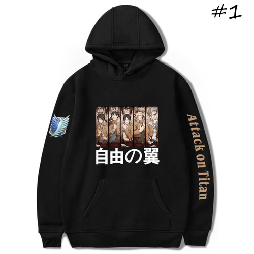 Attack on Titan Hoodie - Z