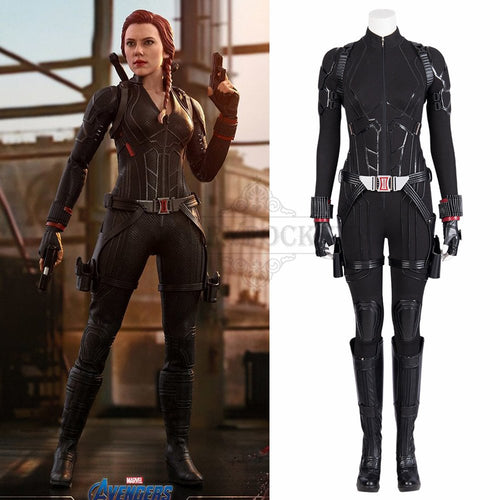 Avengers: Endgame Black Widow Cosplay Costume