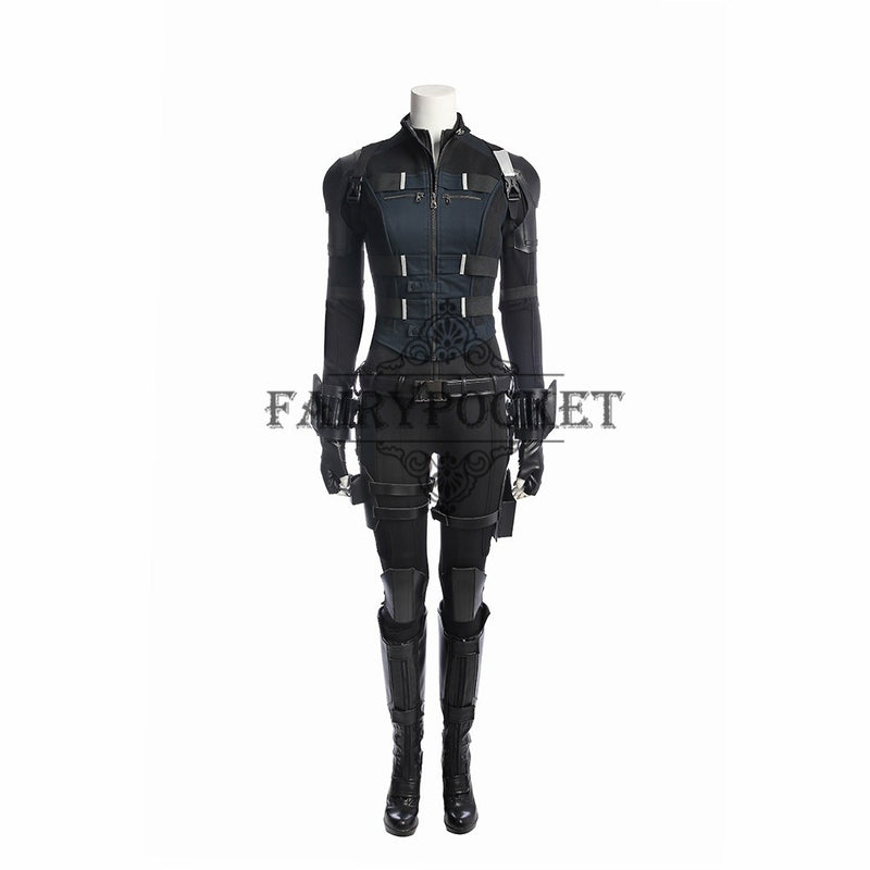 Avengers: Infinity War Black Widow Cosplay Costume