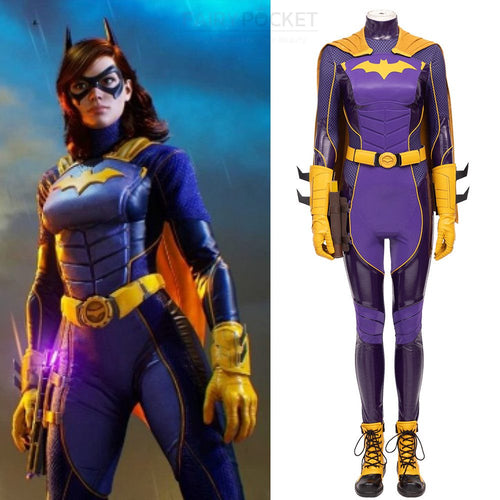 Batman: Gotham Knight Batgirl Cosplay Costume