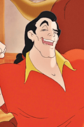 Beauty and the Beast Gaston Anime Cosplay Wig