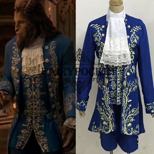 Beauty and the Beast Prince Anime Cosplay Costume - A