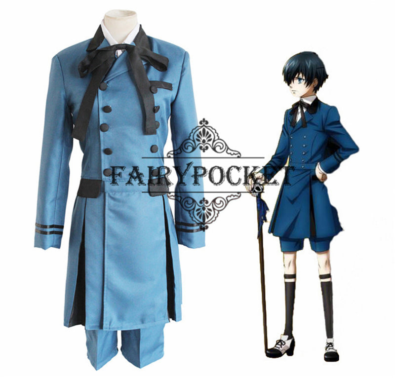 Black Butler Ciel Phantomhive Anime Cosplay Costume