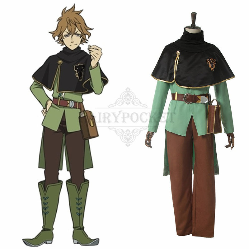 Black Clover Finral Roulacase Cosplay Costume