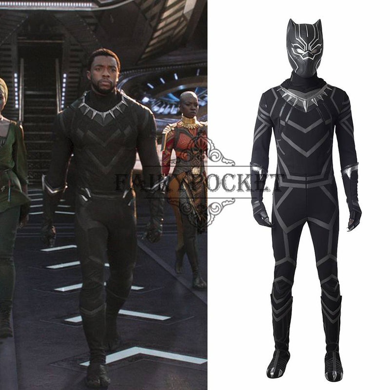 Black Panther T'Challa Cosplay Costume