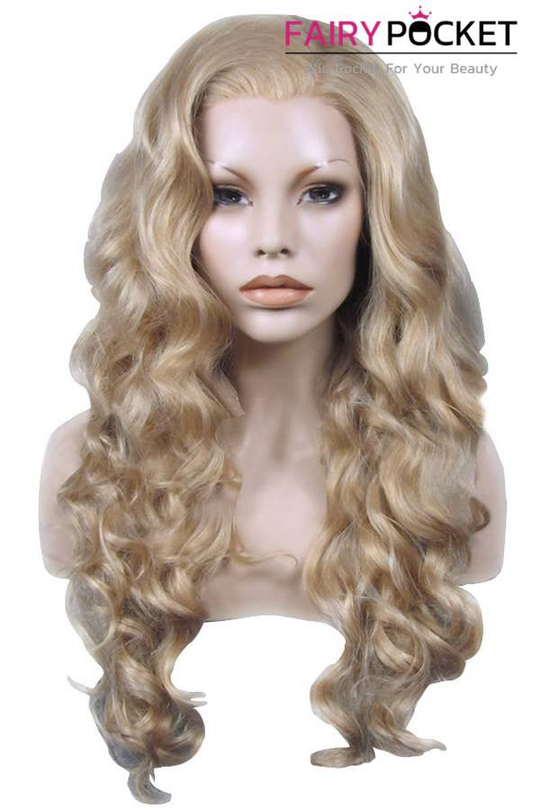 Blonde Long Wavy Lace Front Wig