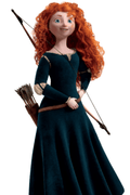 Brave Princess Merida Cosplay Wig