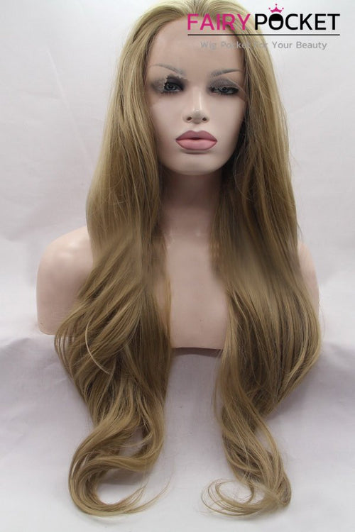 Sable Brown Long Wavy Lace Front Wig