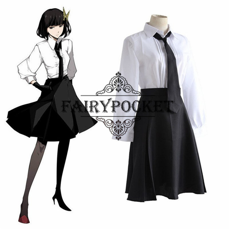 Bungou Stray Dogs Akiko Yosano Anime Cosplay Costume