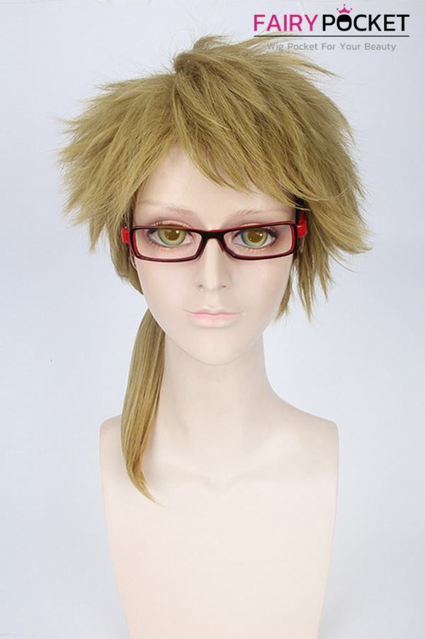 Bungou Stray Dogs Doppo Kunikida  Anime Cosplay Wig