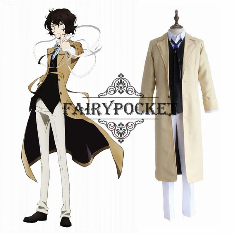 Bungou Stray Dogs Osamu Dazai Anime Cosplay Costume