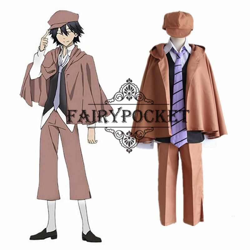 Bungou Stray Dogs Ranpo Edogawa Anime Cosplay Costume