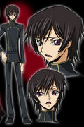 CODE GEASS Lelouch of the Rebellion Lelouch Lamperouge  Cosplay Wig
