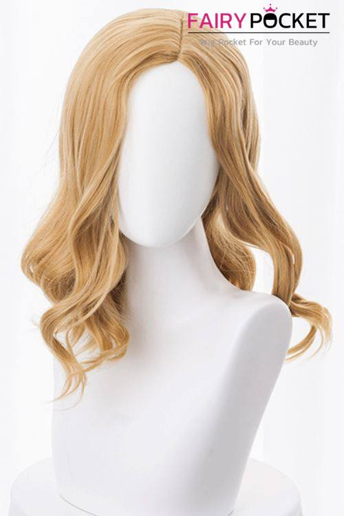 Captain Marvel Carol Danvers Cosplay Wig