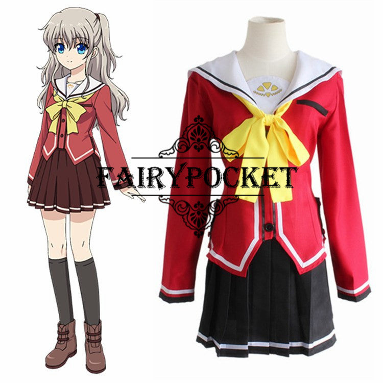 Charlotte Nao Tomori Anime Cosplay Costume