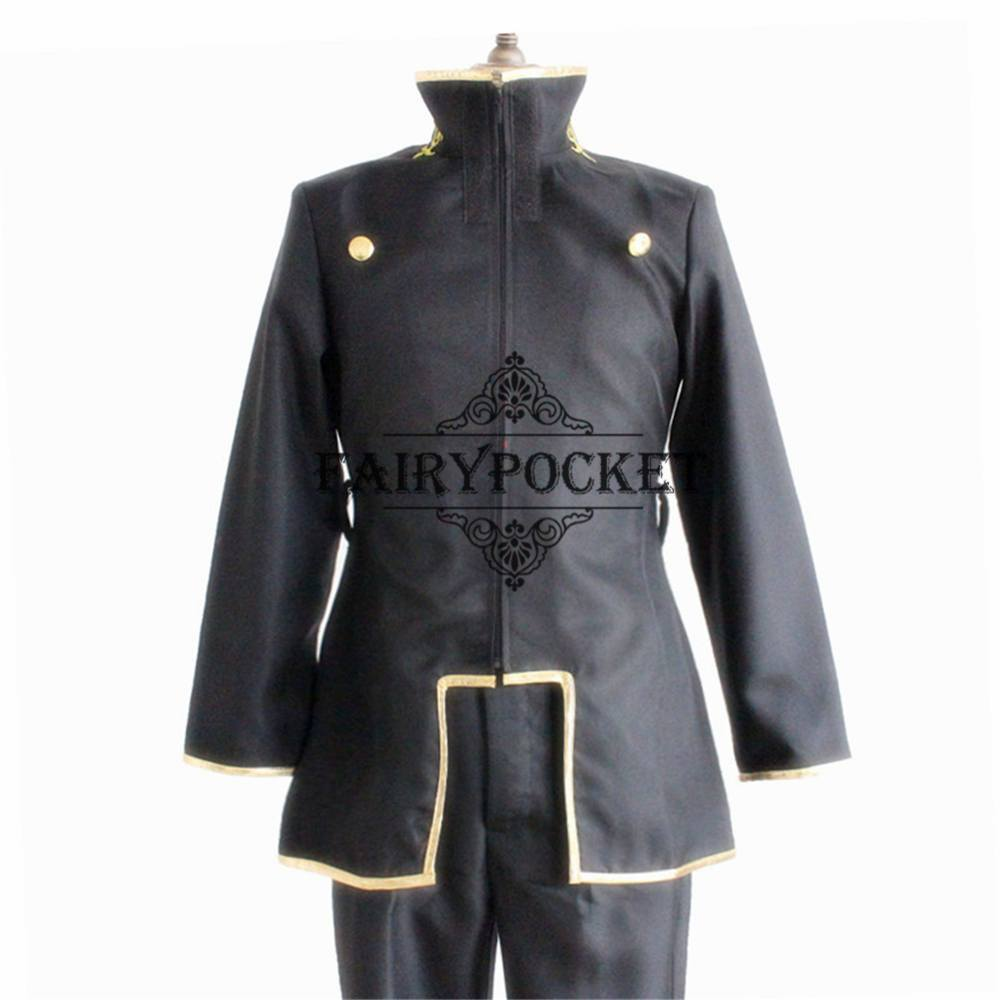 ... Code Geass Hangyaku no Lelouch Lelouch L&erouge Anime Cosplay Costume ...  sc 1 st  Fairy Pocket : lelouch cosplay costume  - Germanpascual.Com