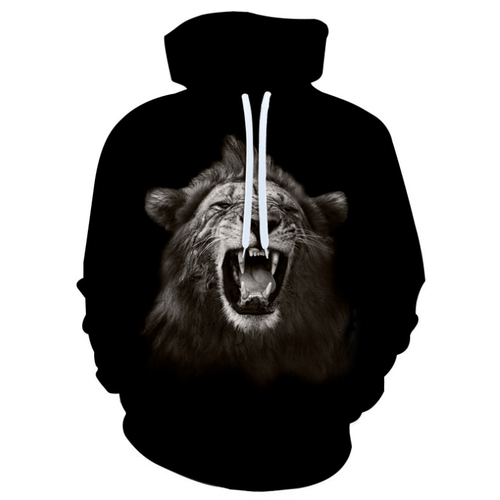 Cool Lion Animal Hoodie