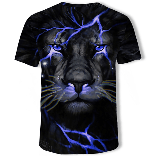 Cool Tiger Animal T-Shirt - B