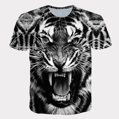 Cool Tiger Animal T-Shirt
