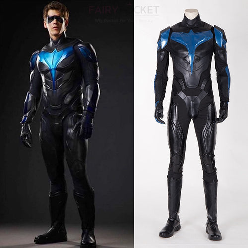 Titans Season 2 Nightwing Cosplay Costume - B