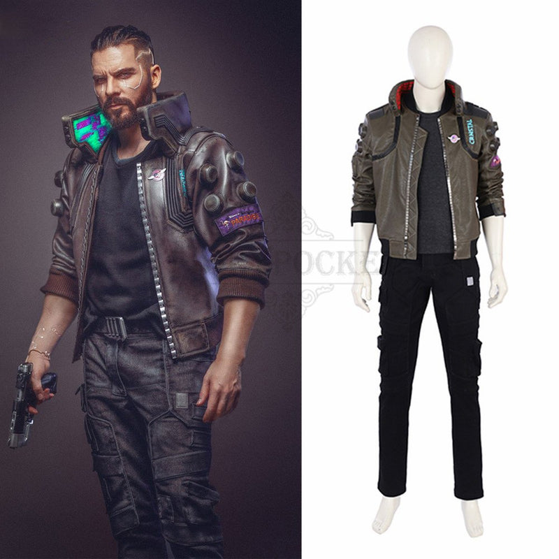 Cyberpunk 2077 Cosplay Costume - Male