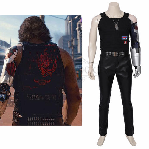 Cyberpunk 2077 Keanu Reeves Cosplay Costume