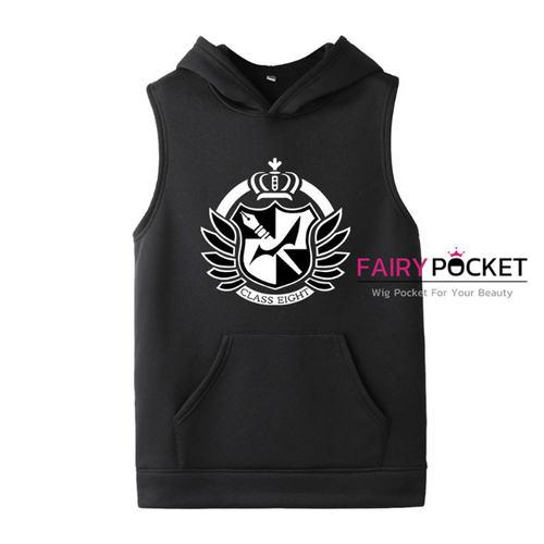 Danganronpa Sleeveless Hoodie (5 Colors) - B