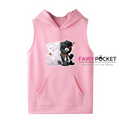 Danganronpa Sleeveless Hoodie (5 Colors) - C