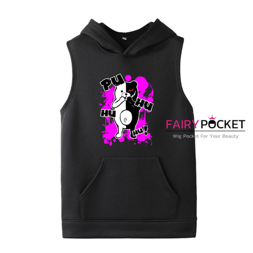 Danganronpa Sleeveless Hoodie (5 Colors) - D