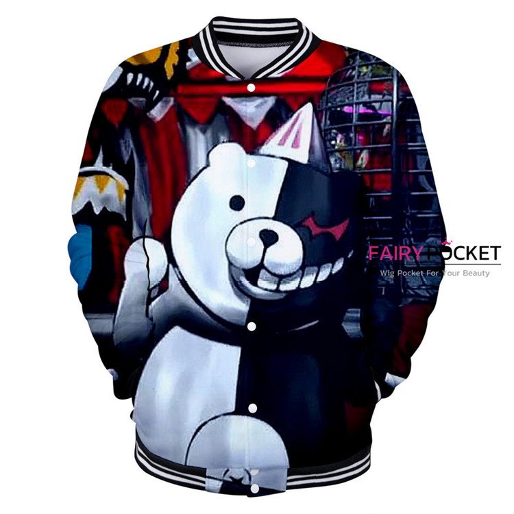 Danganronpa Monokuma Jacket/Coat - D