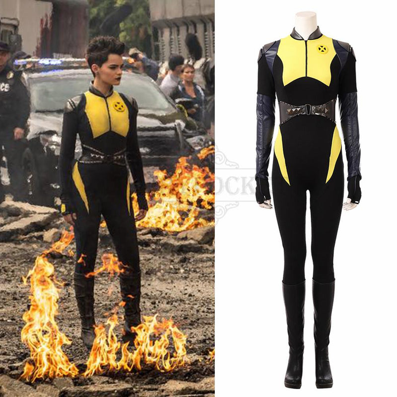 Deadpool 2 Ellie Phimister Cosplay Costume